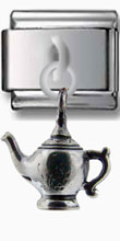 Teapot Dangle Silver Charm