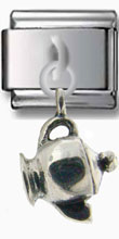 Little Teapot Sterling Silver Charm