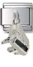 Grand Piano Sterling Silver Charm
