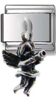 Little Angel Dangle Silver Charm