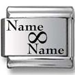 Custom Name & Name Laser Charm