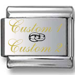 Custom & Custom with Wedding Ring Laser Charm