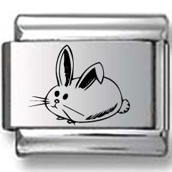 Bunny Rabbit Laser Charm