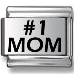 #1 MOM Laser Charm