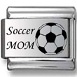 Soccer Mom Laser Charm
