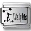 Weights Laser Charm