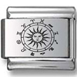 Zodiac Sun Signs Laser Charm