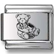 Teddy Bear Chair Laser Charm