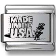 Made in USA Laser Charm