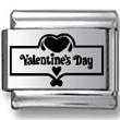 Valentine's Day Banner Laser Charm