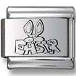 Easter Bunny EASTER Laser Charm