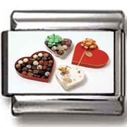 Box of Chocolates Charm