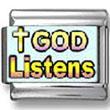 God Listens Photo Charm