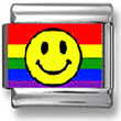 Gay Pride Smiley Face