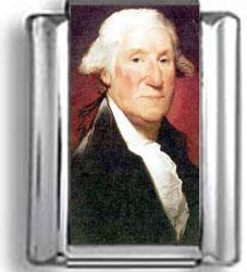 George Washington Photo Charm