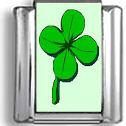 Four Leaf Clover Photo Charm