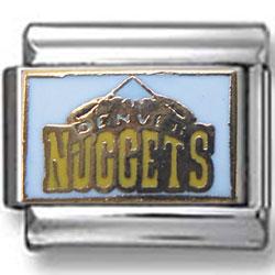 Denver Nuggets Italian charm