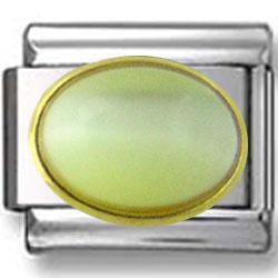 Oval October Opal Birthstone