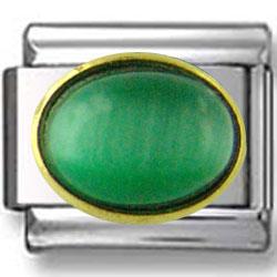 Oval May Emerald Birthstone