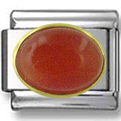 Oval July Ruby Birthstone