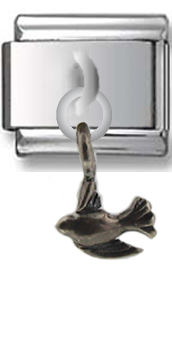 Bird Sterling Silver Italian Charm