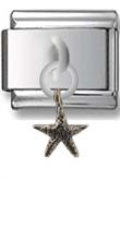 Starfish Sterling Silver Italian Charm