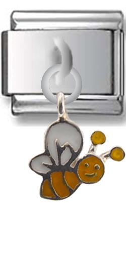 Bee Sterling Silver Italian Charm