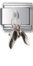 Dress Shoes Sterling Silver Italian Charm