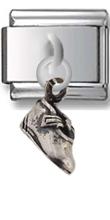 Shoe Sterling Silver Italian Charm