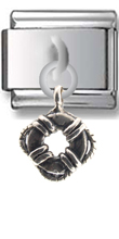 Life Savor Sterling Silver Italian Charm