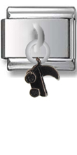 Baby Carriage Sterling Silver Italian Charm