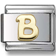Disney letter B Italian charm