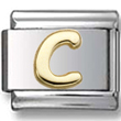 Disney letter C Italian charm