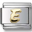 Disney letter E Italian charm