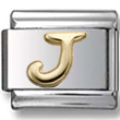 Disney letter J Italian charm