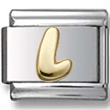 Disney letter L Italian charm