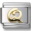 Disney letter Q Italian charm