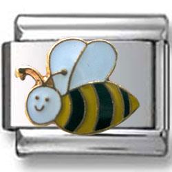Bee Italian Charm