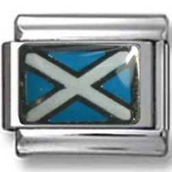 Scotland Flag Italian Charm