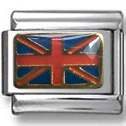 British Flag Italian Charm