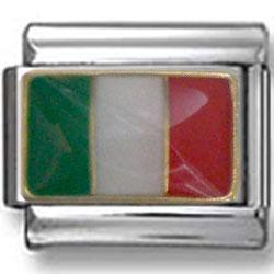 Italian Flag Italian Charm