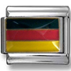 German Flag Italian Charms
