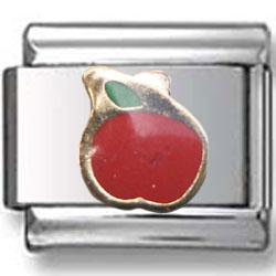 Apple Italian Charm
