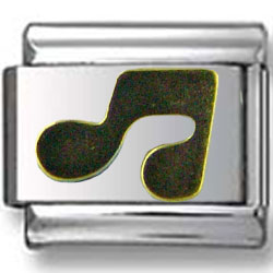 Gold Music Note