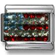 American Flag Zirconia