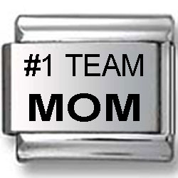 #1 Team Mom Laser