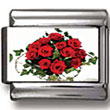 Bouquet of Roses Charm