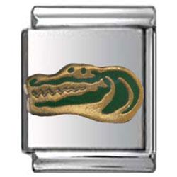 Alligator Italian Charm 13mm