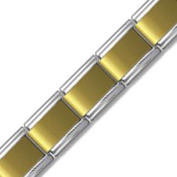 9mm Gold Plated Face Starter Bracelet