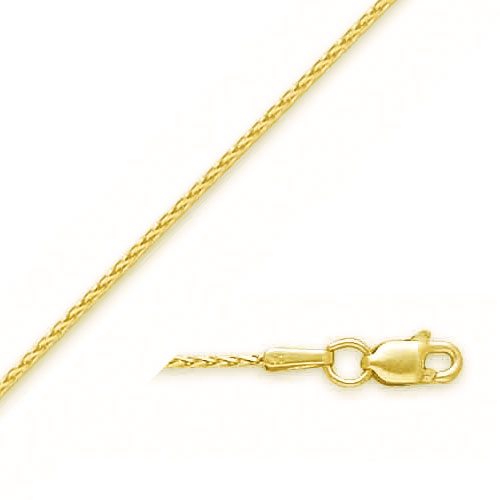 14K 1.1mm Wheat Chain. Price: $177.86